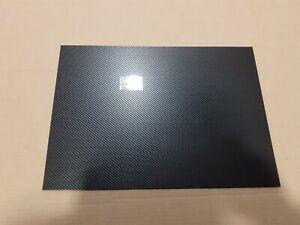2 mm Black Carbon Fibre Effect ABS Sheet, A6 A5 A4 A3  model car trim vacform