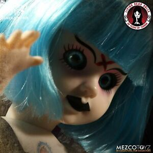Living Dead Dolls Candy Rotten VARIANT (Blue Hair)  Coffin  Dented Never Opened.