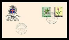 Iceland 1968 FDC, Flowers IV. Lot # 1.