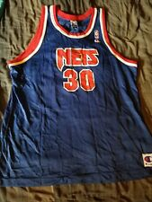 Vintage 90 s Champion New Jersey Nets Kerry Kittles Rookie Jersey size 48 353a9af26