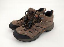 MERRELL Moab Ventilator Mid Kids Walnut Hiking Boots Size 5.5