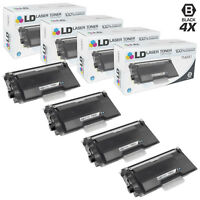 LD COMP Brother TN890 Toner Set of 4 for HL-L6400DW, HL-L6400DWT & MFC-L6900DW