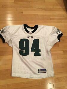 Game Used Authentic Jason Babin Philadelphia Eagles Practice Jersey
