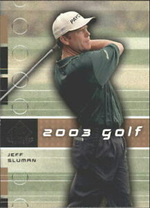 2003 SP Game Used Golf Card Pick