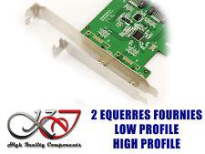 Controller Pcie Raid SATA III 6GB 2 Ports ASM1061R High Low Profile
