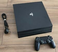 Sony PlayStation 4 PS4 PRO 1TB Black Console with Controller