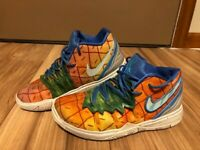 RARE Nike Kyrie 5 PS Spongebob Pineapple House Shoes Youth Size 3Y CN4501-800