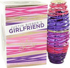 Justin Bieber Girlfriend Eau De Parfum Spray for Women, 100ml/3.4 oz.