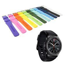 Armband Ersatz für Samsung Gear S3 Frontier /Classic Smartwatch Uhr viele Farben