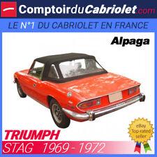 Capote Triumph Stag cabriolet - Toile Alpaga Stayfast®