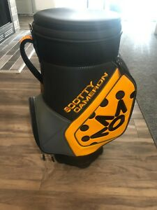 Scotty Cameron Club 2020 Den Caddy & Cooler Yellow Gray Bag Caddie New! SOLD OUT