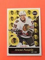 Artemi Panarin 2015-16 O-Pee-Chee Retro Rookie Hockey Card #U45