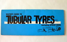 Wolthos guide to Tubular Tyres Vintage 1964 Original