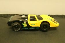 Vintage Tyco Porsche Yellow Black Racing Slot Car