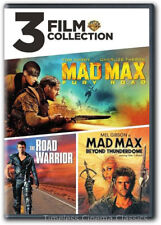 3 Film Coll: Mad Max Fury Road, Road Warrior, Mad Max Beyond ThunderDome DVD New