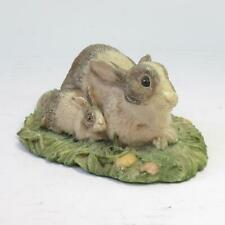 "John Beswick Studio Sculptures ""Contentment"" Rabbit Figurine Brown Fur Variant"