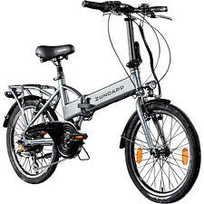 Vélo Pliant Électrique 20 Pouces Zündapp Z101 Pedelec Stvzo Électro B-Ware