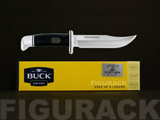 """Buck 75th Anniversary Model 119 Special Fixed 5.5"""" Blade Knife w/ Leather Sheath"""