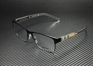 BURBERRY BE1289 1007 Matte Black Demo Lens 55 mm Men's Eyeglasses