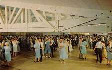 Sherwood Illinois Blue Moon Ballroom Interior View Vintage Postcard J47227