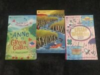 Classics Books for Children Collection -3 BOOKS-THE ADVENTURES OF TOM SAWYER  S4