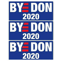 "5pcs ""BYE DON"" 2020 Joe Biden For President Campaign Vinyl Bumper Stickers Decal"