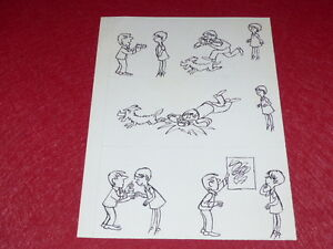 "[Comics Drawing Humor Press] Metal / Board Original Comics "" Photographer '1960"