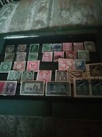 VINTAGE STAMPS Classic nice high v collection in midi page high Catalogue value