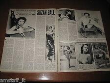 *=SUZAN BALL=ANNO 1955=RITAGLIO=CLIPPING=POSTER=FOTO=