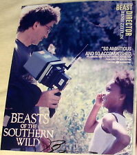 "BENH ZEITLIN SIGNED AUTOGRAPH ""BEASTS OF THE SOUTHERN WILD"" RARE DIRECTOR PHOTO"