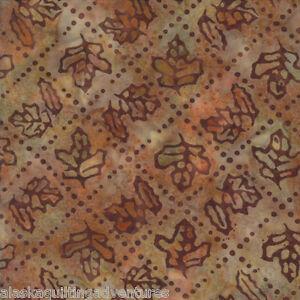 FABRIC Moda ~ PINE ISLAND BATIKS ~ Holly Taylor (4616 10) Copper by the 1/2 yard