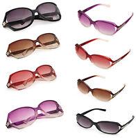 4 Color Retro Big Frame Round Glasses Fashion Women Cool Sunglasses Eyewear