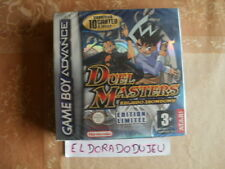 ELDORADODUJEU >>> DUEL MASTERS KAIJUDO SHOWDOWN Pour GAME BOY ADVANCE GBA NEUF