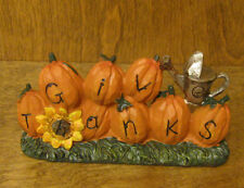 """Halloween #J4198B HARVEST PUMPKINS, 3"""" x 6"""" New from our Retail Store, Transpac"""