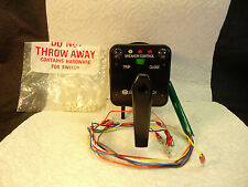 NEW ELECTRO SWITCH 74PD202LX SERIES 24 BREAKER CONTROL SWITCH 20A 600VAC