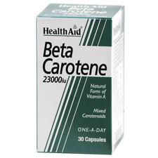 Health Aid Beta Carotene Natural 15mg 30 capsules