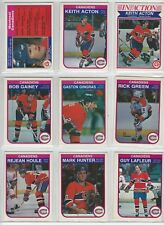 1982-83 O-Pee-Chee Montreal Canadiens team set 20 cards