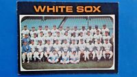 1971 Topps Baseball Card Chicago White Sox Team Photo #289
