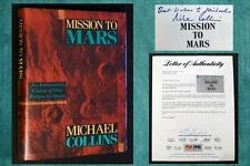 MICHAEL COLLINS SIGNED (MIKE) w/ PSA/DNA - MISSION TO MARS (Apollo 11 Astronaut)