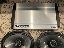 New listing Kicker Kx800.5 Amp Csc68 6x8 Speakers