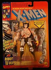 The X-Men Robot Wolverine (Albert) 6th Edition Robotic Arm Weapons!