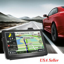 【2-5day】7''Truck Car Navigation GPS Navigator SAT NAV 4GB+ Free Update World Map