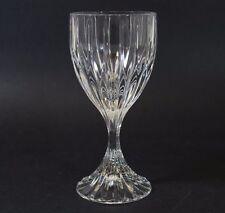 "Mikasa Fine Lead Crystal Wine Glass 6 1/4"" Park Lane Pattern"
