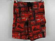 Quiksilver Board Surf Beach Shorts Size 27 x 11 Velcro Pocket