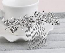 Accessori Da Sposa Diamante Matrimonio Floreale Aliceband Crystal Copricapo 1 Pezzo
