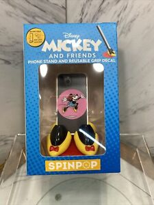 Disney Spinpop Mickey And Friends Phone Stand Reusable Grip Decal Minnie Mouse