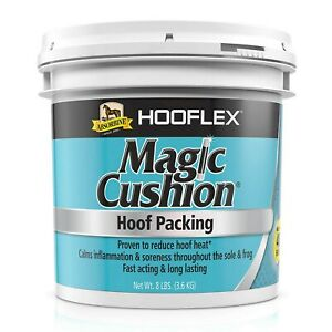 Absorbine Hooflex Magic Cushion, Veterinary Formulated Fast-Acting Relief, Re...