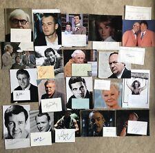 More details for famous people celebrity autographs signatures