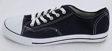 *SALE* Spot On X0001 Men's Navy Lace Up Canvas Sneaker Shoes