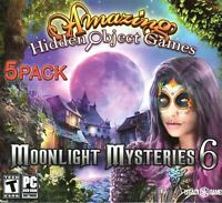 Amazing Hidden Object Games Moonlight Mysteries 6 PC Windows 10 8 7 XP Computer